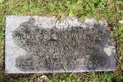 Roy Churchwell Crowell