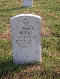 Sgt John Sherman Burke