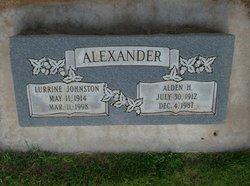 Vaunda Lurrine <i>Johnston</i> Alexander