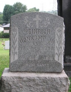 Hienrich Honkomp, Jr