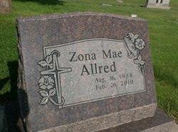 Zona Mae <i>Revels</i> Allred
