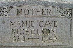 Mamie Ellen <i>Jones</i> Nicholson