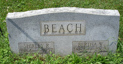 Bertha W. <i>Bettis</i> Beach