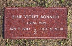 Elsie Violet <i>Putzy</i> Bonnett