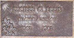 Lucille G <i>Staab</i> Ellis