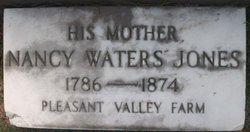 Nancy <i>Waters</i> Jones