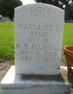 Margaret Leuginia <i>Byrd</i> Alligood