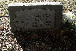 Mrs Hazel Mary <i>Nida</i> Evans