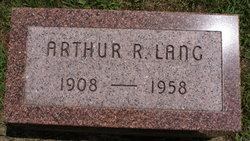 Arthur R Lang
