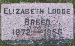Elizabeth A <i>Lodge</i> Breed