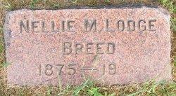 Nellie M <i>Lodge</i> Breed