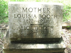 Louisa <i>Roberts</i> Booth