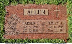 Emily Josephine <i>Walter</i> Allen