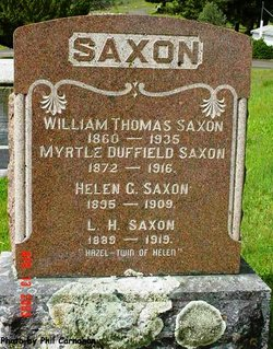 William Thomas Saxon