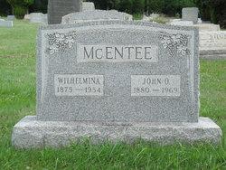 Wilhelmina Minnie <i>Shoudt</i> McEntee