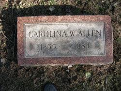 Carolina W Allen