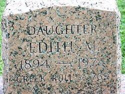 Edith M Morgan