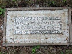Frances <i>Warren</i> Berreman