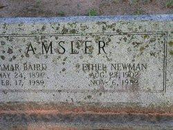 Ethel <i>Newman</i> Amsler
