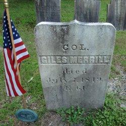 Col Giles Merrill