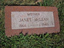 Jeanetta Janet <i>McFarland</i> McLean