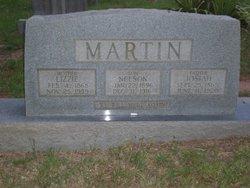 Martha Elizabeth Lizzie <i>Cook</i> Rodrick Sutton Martin