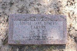 Louise Jane <i>Bowers</i> Larson