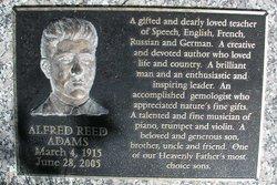 Alfred Reed Adams