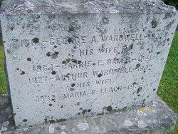 Carrie E <i>Baker</i> Wardwell