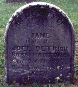 Jane <i>Hartung</i> Detrich