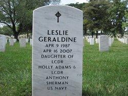 Leslie Geraldine Sherman