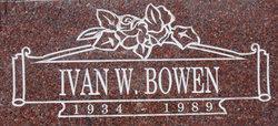 Ivan Wayne Bowen