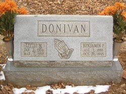 Benjamin Franklin Donivan