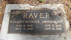 Margaret Lucinda <i>Eltzroth</i> Raver