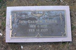 Ida <i>Garmon</i> Baker