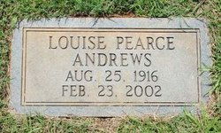 Allie Louise <i>Brasfield</i> Andrews