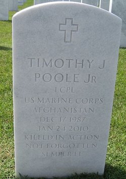 LCpl Timothy J. Bubba Poole, Jr