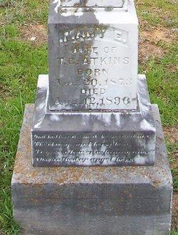 Mary E. <i>Stevenson</i> Atkins