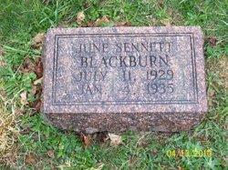 June <i>Sennett</i> Blackburn