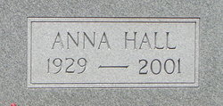 Anna <i>Hall</i> Bozard