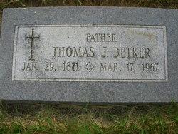 Thomas J Betker