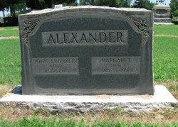 Margaret <i>Augustine</i> Alexander