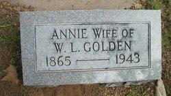 Annie <i>Norton</i> Golden