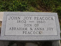 John Joy Peacock