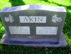 Sallie Kate <i>Stubbs</i> Akin
