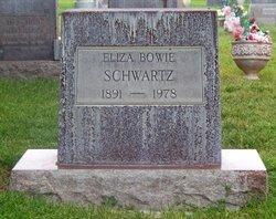 Eliza <i>Bowie</i> Schwartz