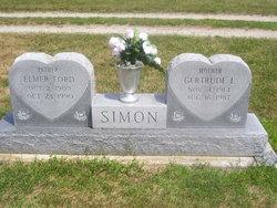 Gertrude Lenore <i>Leininger</i> Simon