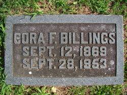 Cora Francis <i>Rollins</i> Billings