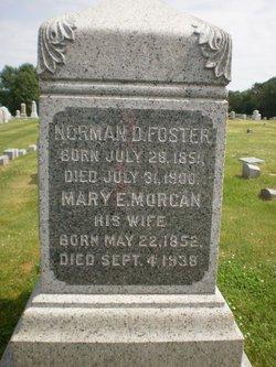 Mary E. <i>Morgan</i> Foster