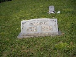 Julia Elizabeth <i>Cannon</i> Boughman